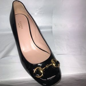 Amputee Gucci Horsebit heel right foot